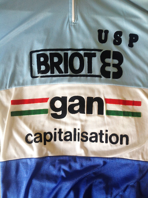 Maillot cycliste vintage Gan