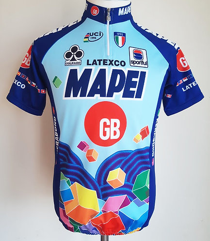 Maillot cycliste Mapei