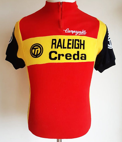 Maillot cycliste vintage Ti-Raleigh Creda