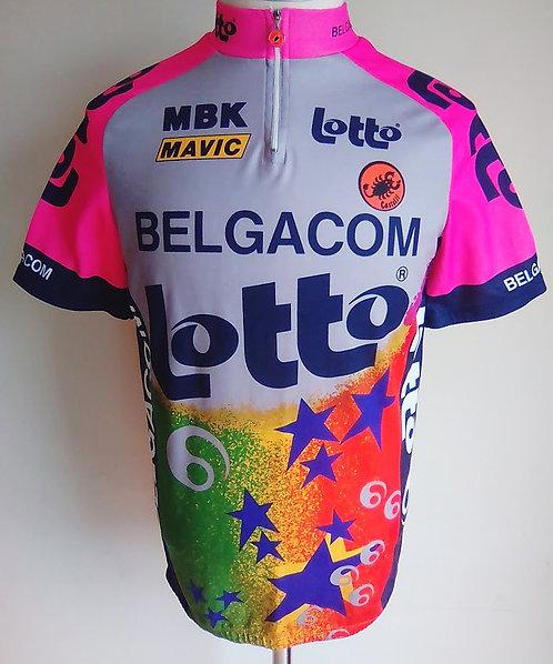 Maillot cycliste Lotto Belgacom