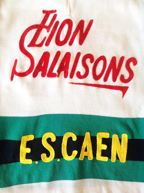Maillot cycliste vintage E.S Caen