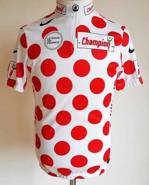 Maillot cycliste du Meilleur Grimpeur Tour de France
