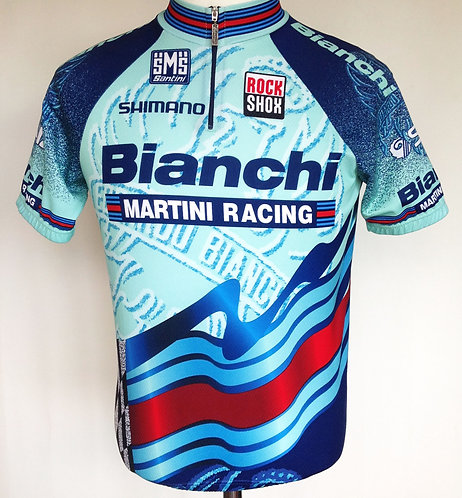 Maillot cycliste Bianchi Martin Racing