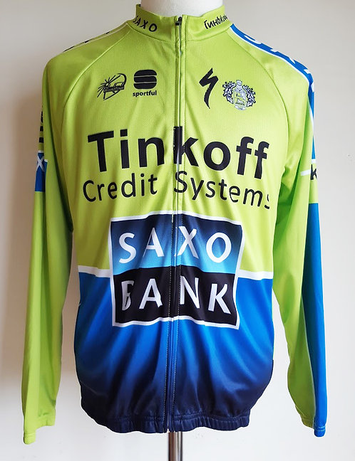 Veste cycliste Team Saxo Bank
