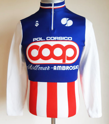 Maillot cycliste vintage Coop