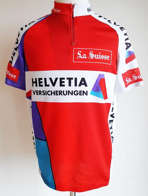 Maillot cycliste Helvetia La Suisse
