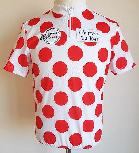 Maillot cycliste Meilleur Grimpeur Tour de France 2000
