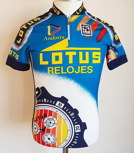 Maillot cycliste Festina Lotus