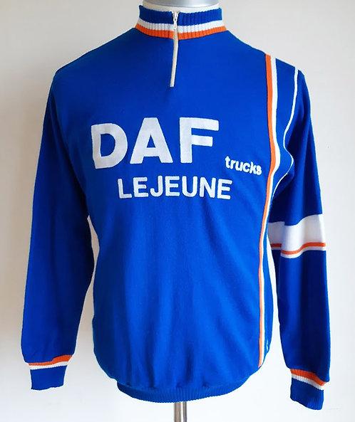 Maillot cycliste vintage Daf Trucks Lejeune