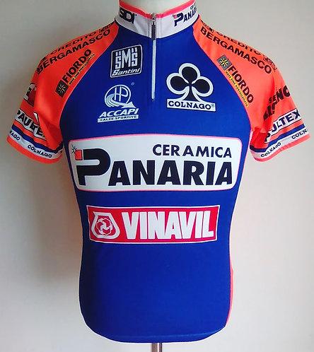 Maillot cycliste Panaria Vinavil