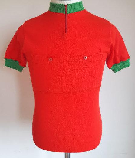 Maillot cycliste vintage C.C Chavagne