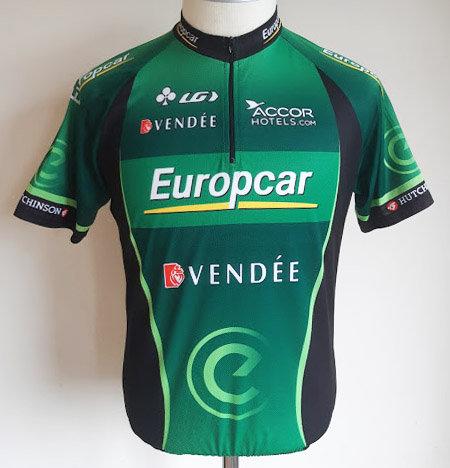 Maillot cycliste Team Europcar