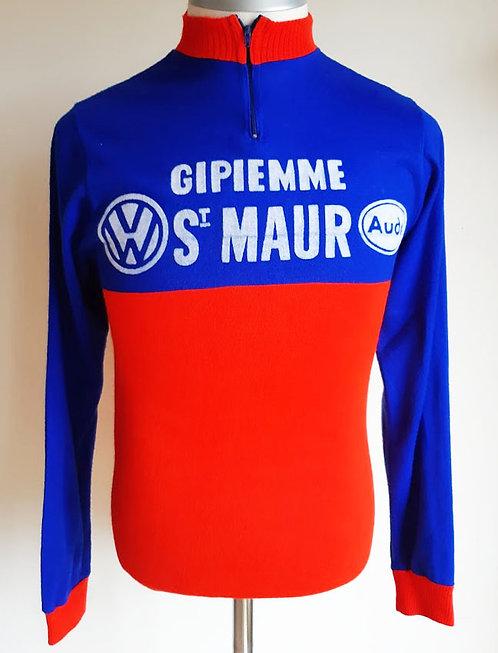 Maillot cycliste vintage Gipiemme St Maur