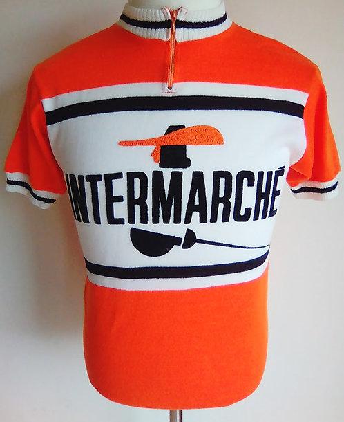 Maillot cycliste vintage Intermarché