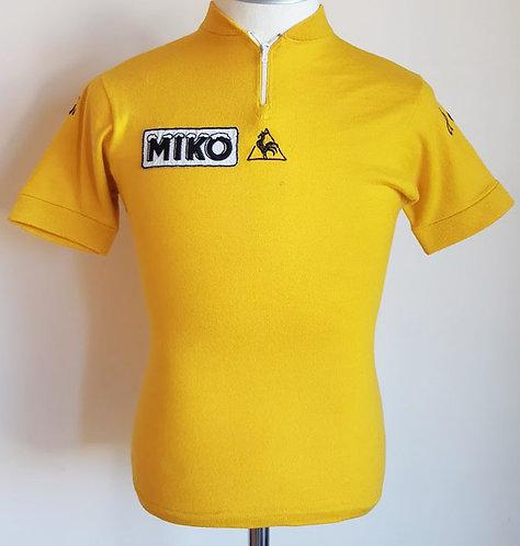 Maillot cycliste vintage Jaune Tour de France