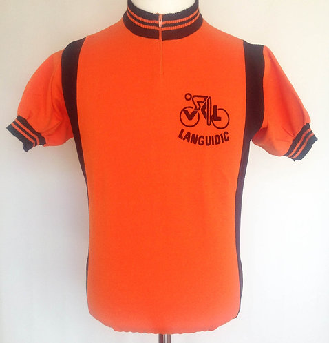 Maillot cycliste vintage Languidic