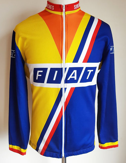Veste cycliste vintage Fiat Suresnes
