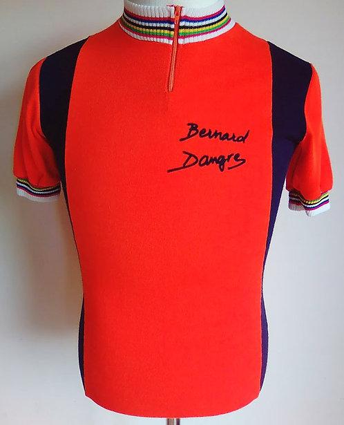 Maillot cycliste vintage Bernard Dangre