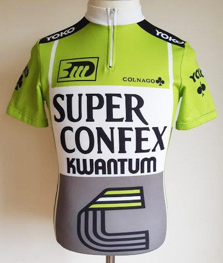 Maillot cycliste Superconfex Kwantum Hallen Yoko