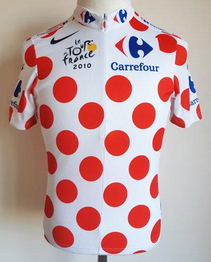 Maillot cycliste Meilleur Grimpeur Tour de France 2010