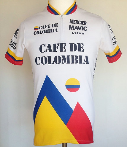 Maillot cycliste équipe Varta Café de Colombia