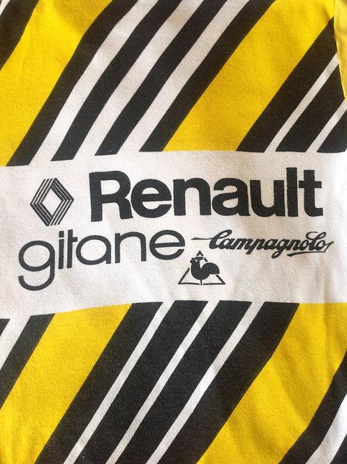 T-shirt vintage Renault Gitane Campagnolo
