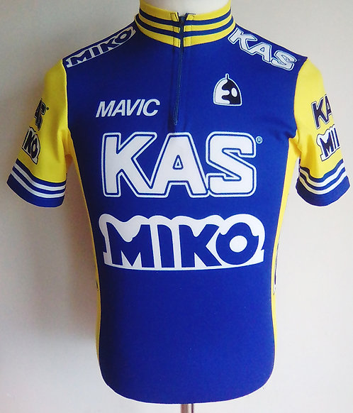 Maillot cycliste Kas Miko Tour de France 1987