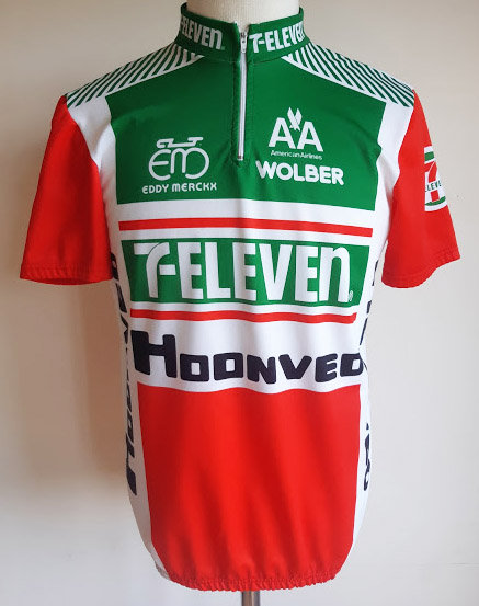 Maillot cycliste 7 Eleven - Hoonved