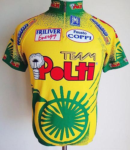 Maillot cycliste équipe Team Polti