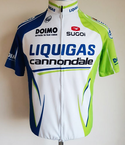 Maillot cycliste Liquigas Cannondale