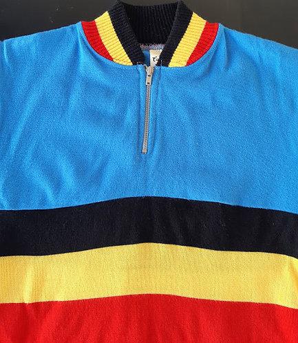 Maillot cycliste vintage équipe de Belgique - Enfant