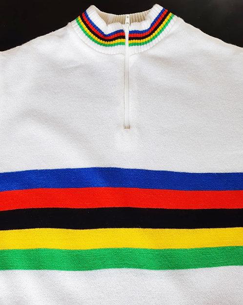 Maillot cycliste vintage Champion du Monde - Enfant