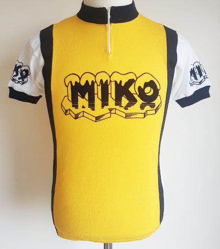 Maillot cycliste vintage Miko