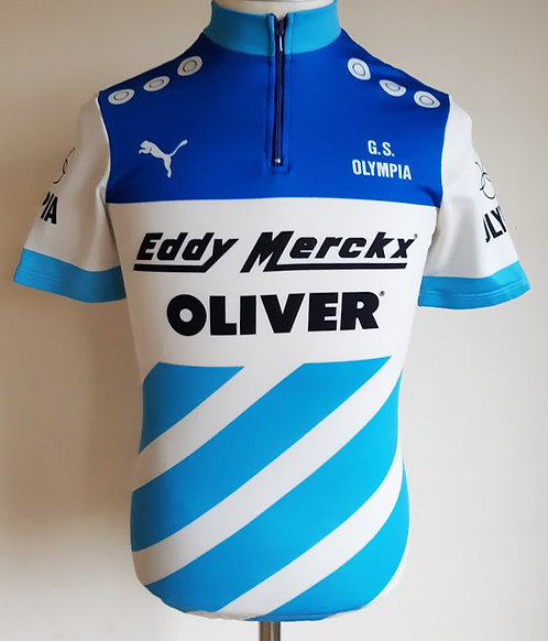 Maillot cycliste vintage G.S Olympia Eddy Merckx