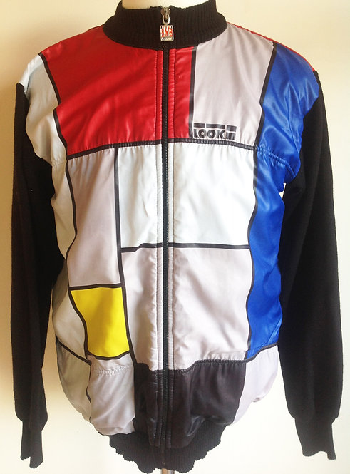 Veste cycliste vintage Look
