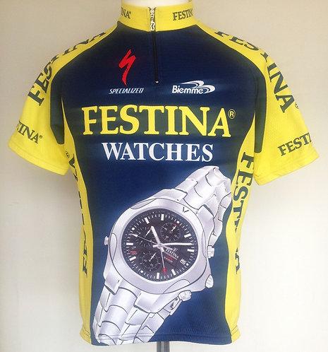 Maillot cycliste équipe Festina
