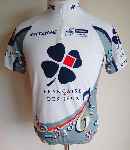 Maillot cycliste Française des Jeux