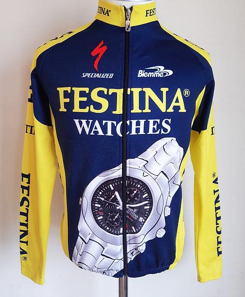 Veste cycliste équipe Festina