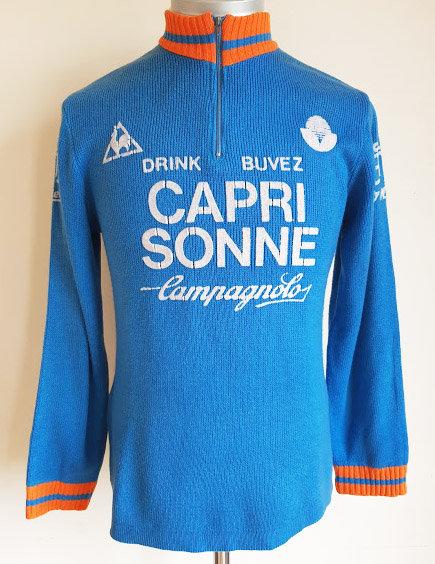 Maillot cycliste vintage Capri Sonne