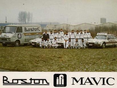 L'équipe Boston Mavic