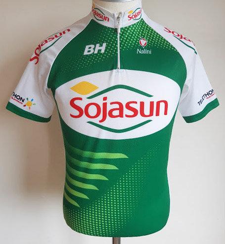 Maillot cycliste équipe Sojasun
