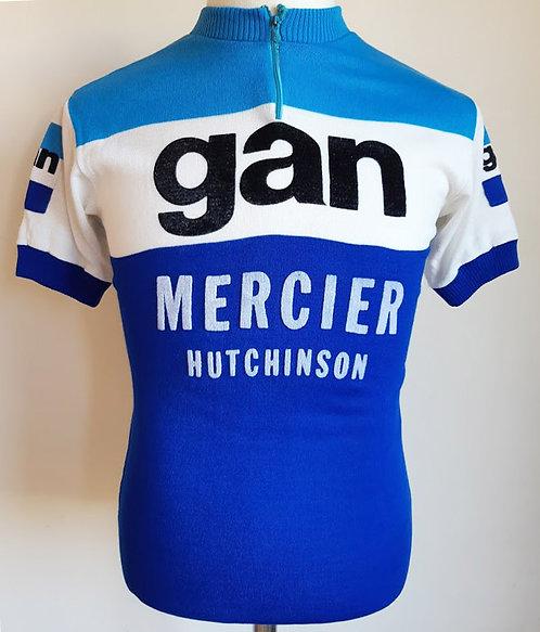 Maillot cycliste vintage Gan Mercier Hutchinson