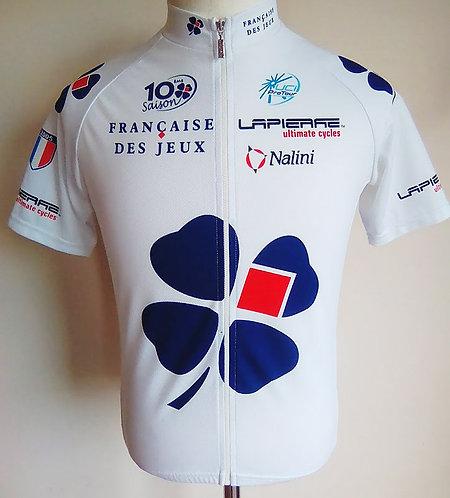 Maillot cycliste Française des Jeux 10ème saison