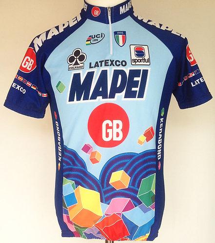Maillot cycliste équipe Mapei