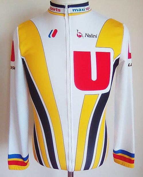 Maillot cycliste Système U