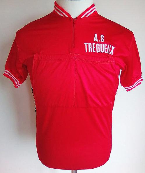 Maillot cycliste vintage A.S Tregueux