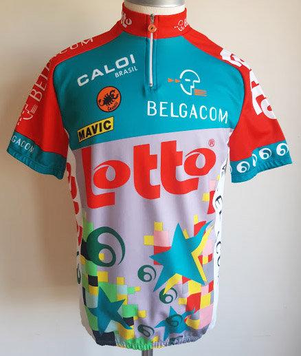 Maillot cycliste Lotto
