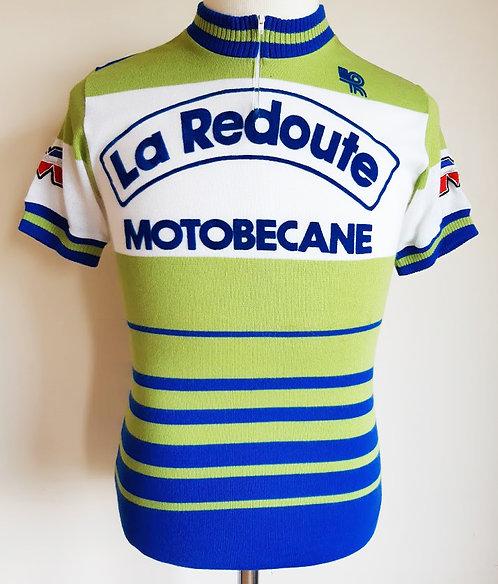 Maillot cycliste vintage La Redoute Motobécane 1979