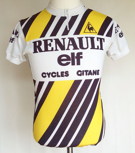 Maillot cycliste Renault Elf Gitane Tour de France 1981
