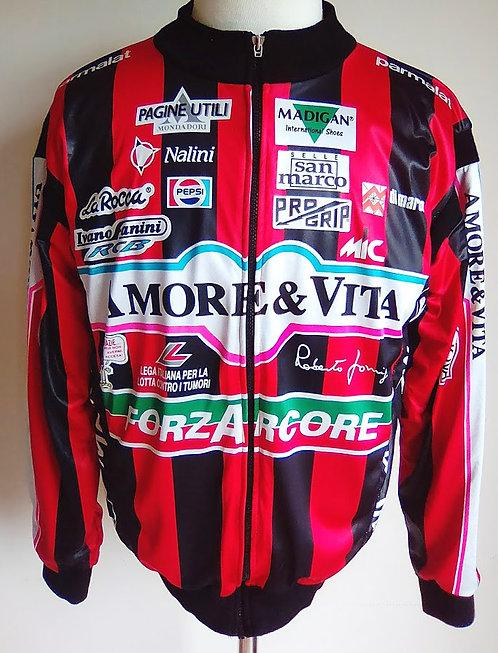 Veste cycliste équipe Amore & Vita